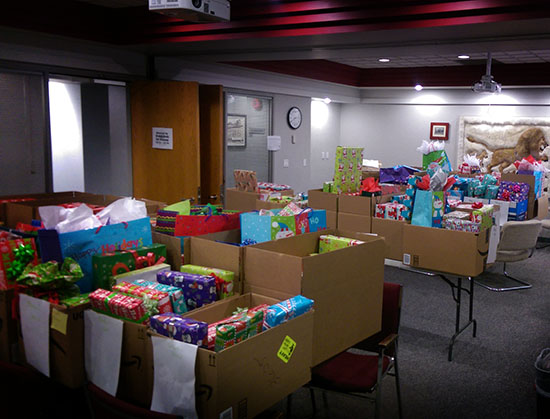 Helping Hands Committee Christmas Gift Giving